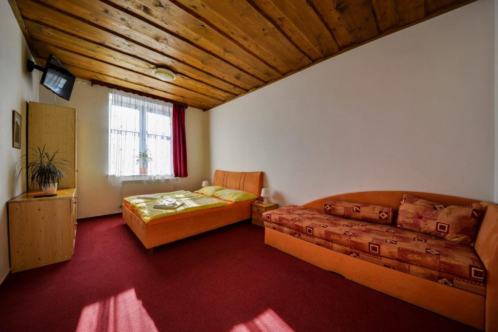 Apartmán 2. (3 lůžka)